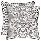 J. Queen New York™ Bel Air Medallion Square Throw Pillow in Silver