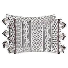 J. Queen New York™ Bel Air Boudoir Throw Pillow in Silver