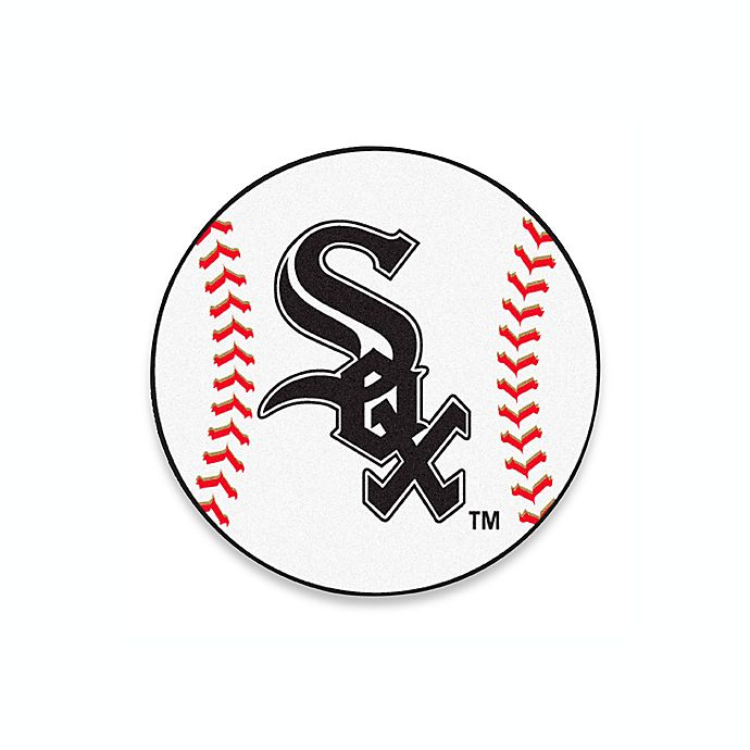 Alternate image 1 for White Sox 2-Foot 3-Inch Accent Rug