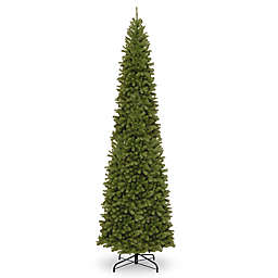 National Tree Company 16-Foot North Valley Spruce Pencil Slim Artificial Christmas Tree