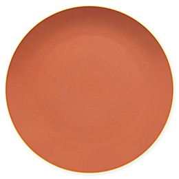 Vista Alegre Mar 13-Inch Charger Plate in Salmon