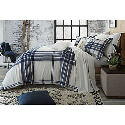 UGG® Dakota Plaid Cotton Flannel Duvet Cover