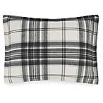 UGG® Dakota Plaid Cotton Flannel Standard Pillow Sham in Charcoal