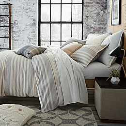 UGG® Lunar Stripe Cotton Flannel Duvet Cover