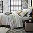Part of the UGG® Lunar Stripe Cotton Flannel Duvet Cover