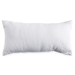 DKNYpure® Comfy Brick Oblong Throw Pillow in White