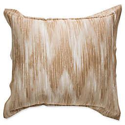 Frette At Home Cervino European Pillow Sham in Stone