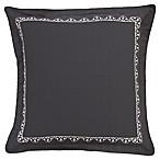 Shalini European Pillow Sham in Charcoal