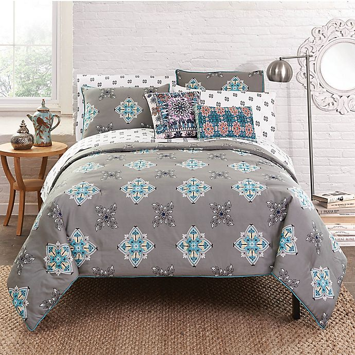 Alternate image 1 for Amrita Sen Jaisalmer Reversible Comforter Set