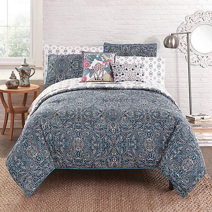 Alternate image 1 for Amrita Sen Varkala Reversible Comforter Set