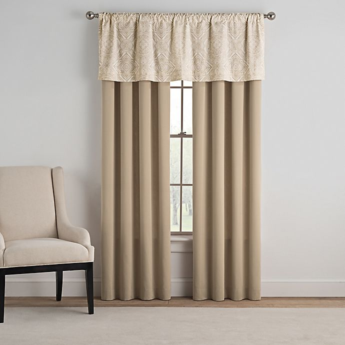 Alternate image 1 for Bridge Street Siena 84-Inch Window Curtain Panel Pair