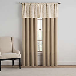 Bridge Street Siena Window Curtain Panels and Valance