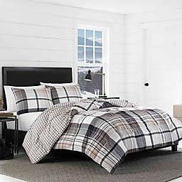 Eddie Bauer® Normandy Plaid Reversible Comforter Set