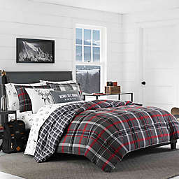 Eddie Bauer® Willow Plaid Flannel Comforter Set