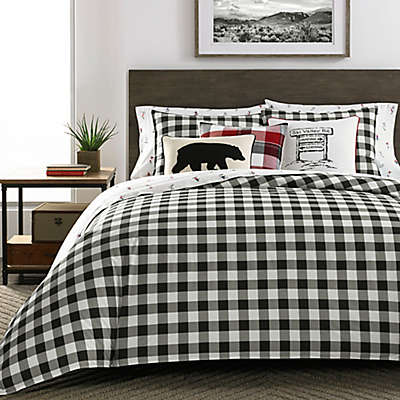 Eddie Bauer® Mountain Plaid Comforter Set