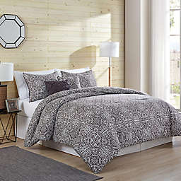VCNY Tapile 5-Piece Comforter Set in Taupe
