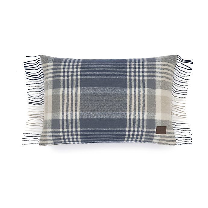 Alternate image 1 for UGG® Charger Plaid Throw Pillow