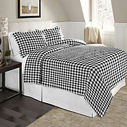 Pointehaven 175 GSM Flannel Duvet Cover Set