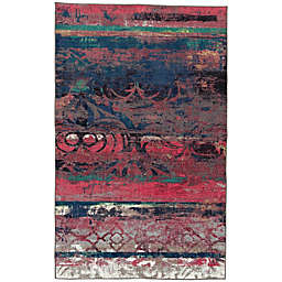 Mohawk Home Eroded Color Area Rug in Pink