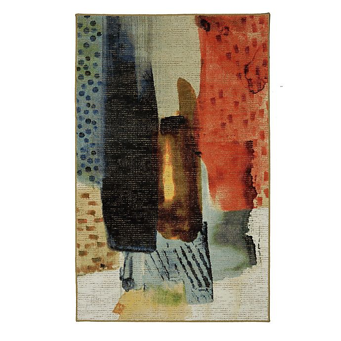 Alternate image 1 for Mohawk Home Transparent Brush Multicolor 5-Foot x 8-Foot Area Rug