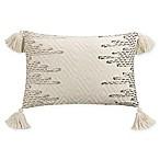 Bridge Street Siena Oblong Throw Pillow in Marshmallow