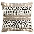 Bridge Street Siena Square Throw Pillow in Ivory
