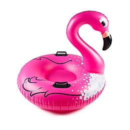 Big Mouth Toys Flamingo Inflatable Snow Tube