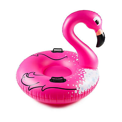 Big Mouth Toys Flamingo Inflatable Snow Tube