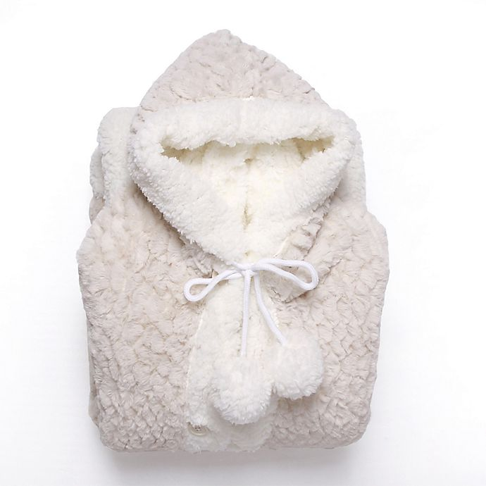 Alternate image 1 for Chic Home Jinny Hooded Snuggle in Beige