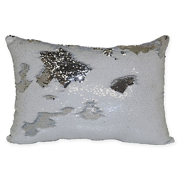 Alternate image 1 for Mermaid Sequin Throw Pillow
