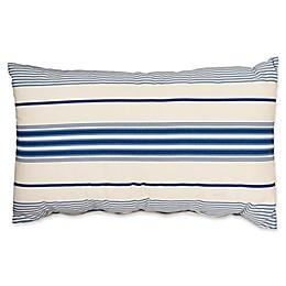 Country Trellis Bolster Throw Pillow in Cream
