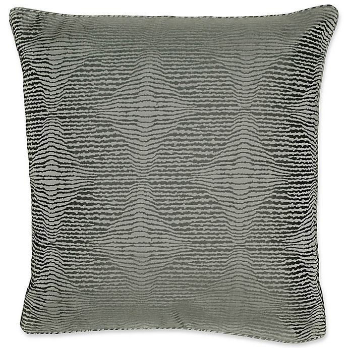 Alternate image 1 for Laundry by SHELLI SEGAL® Textura European Pillow Sham in Grey