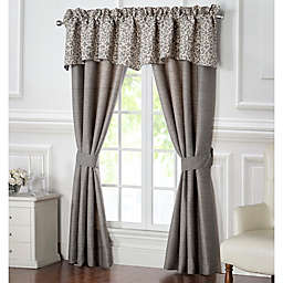 Waterford® Charlize Window Curtain Panels and Valance