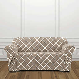 Sure Fit® Lattice Loveseat Slipcover