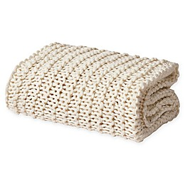 Oscar/Oliver Luca Chunky Knit Throw Blanket