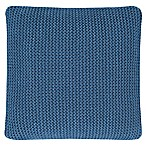 Oscar/Oliver Luca Square Throw Pillow in Blue