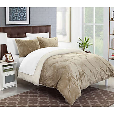 Chic Home Adele Sherpa-Lined Comforter Set