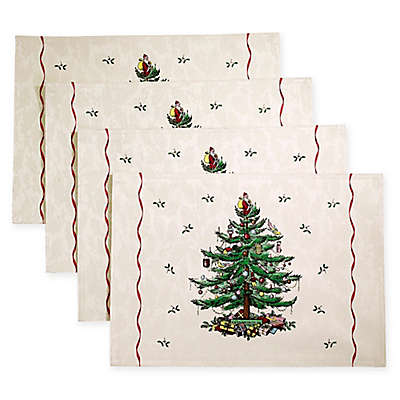 Spode® Christmas Tree by Avanti Placemats (Set of 4)