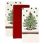 Spode® Christmas Tree by Avanti Kitchen Towels (Set of 3)