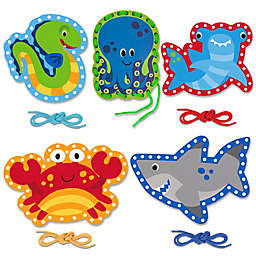 Stephen Joseph® Shark/Ocean Lacing Cards