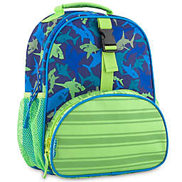 Stephen Joseph® All Over Print Shark Mini Backpack