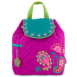 Stephen Joseph® Quilted Paisley Backpack