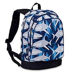 Wildkin Sharks Sidekick Backpack in Blue