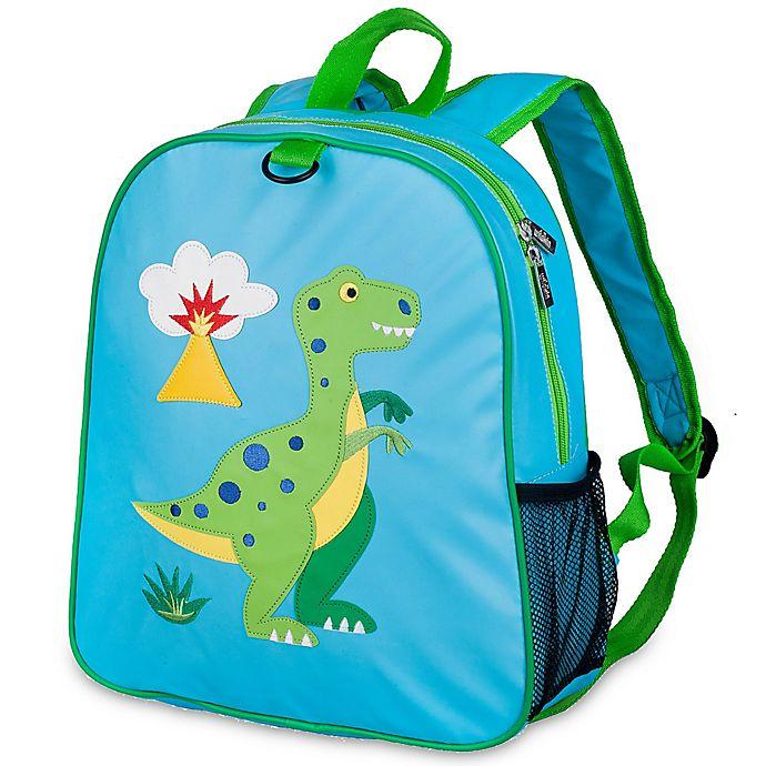 Alternate image 1 for Olive Kids™ Dinosaur Embroidered Backpack in Blue