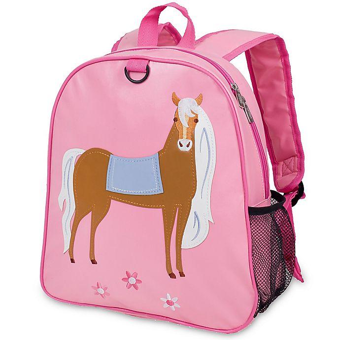 Alternate image 1 for Olive Kids™ Horse Embroidered Backpack in Pink