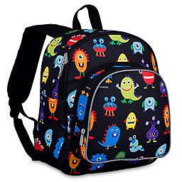Wildkin Monsters Pack 'N Snack Backpack in Black