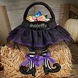 Witch Tutu Plush Treat Bag