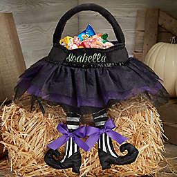 Witch Tutu Plush Treat Bag