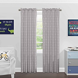 Solar Shield® North Star Rod Pocket Room Darkening Window Curtain Panel