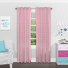 Eclipse Tiny Bella Rod Pocket Room Darkening Window Curtain Panel
